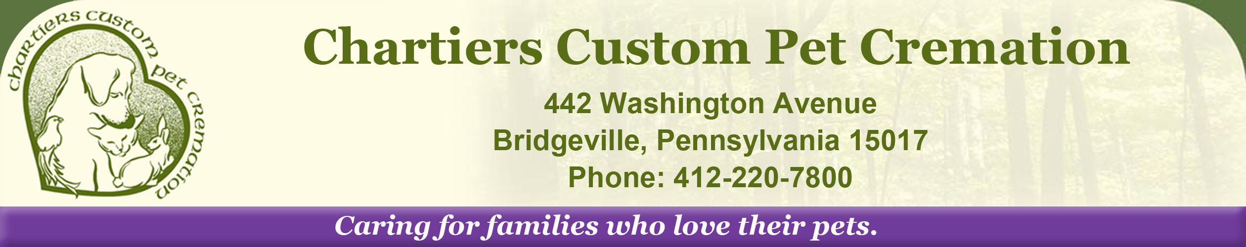 Chartiers Custom Pet Cremation
